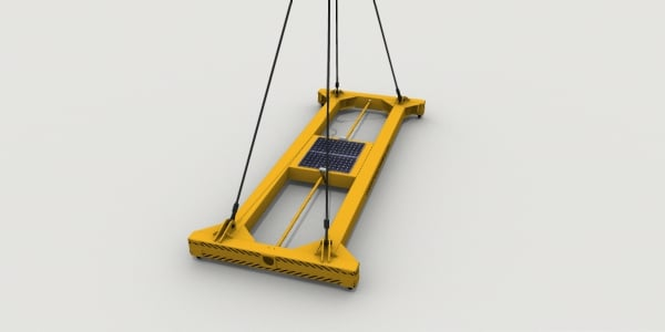 container spreader beam