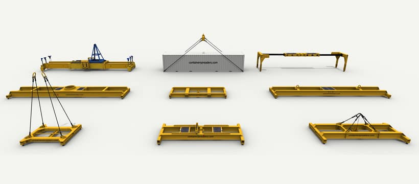 container spreaders our huge range at tec container asia pacific