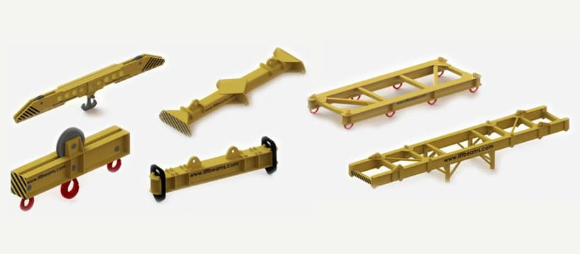 spreader beam options tec container asia pacific