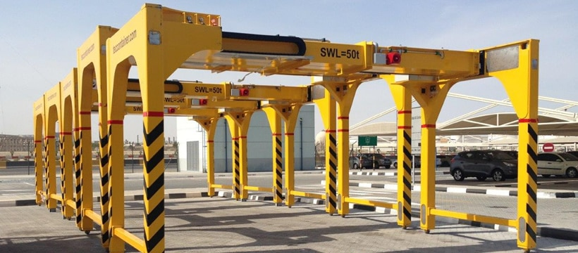 overheight frames tec container asia pacific