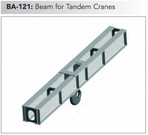 ba 121 beam for tandem cranes min