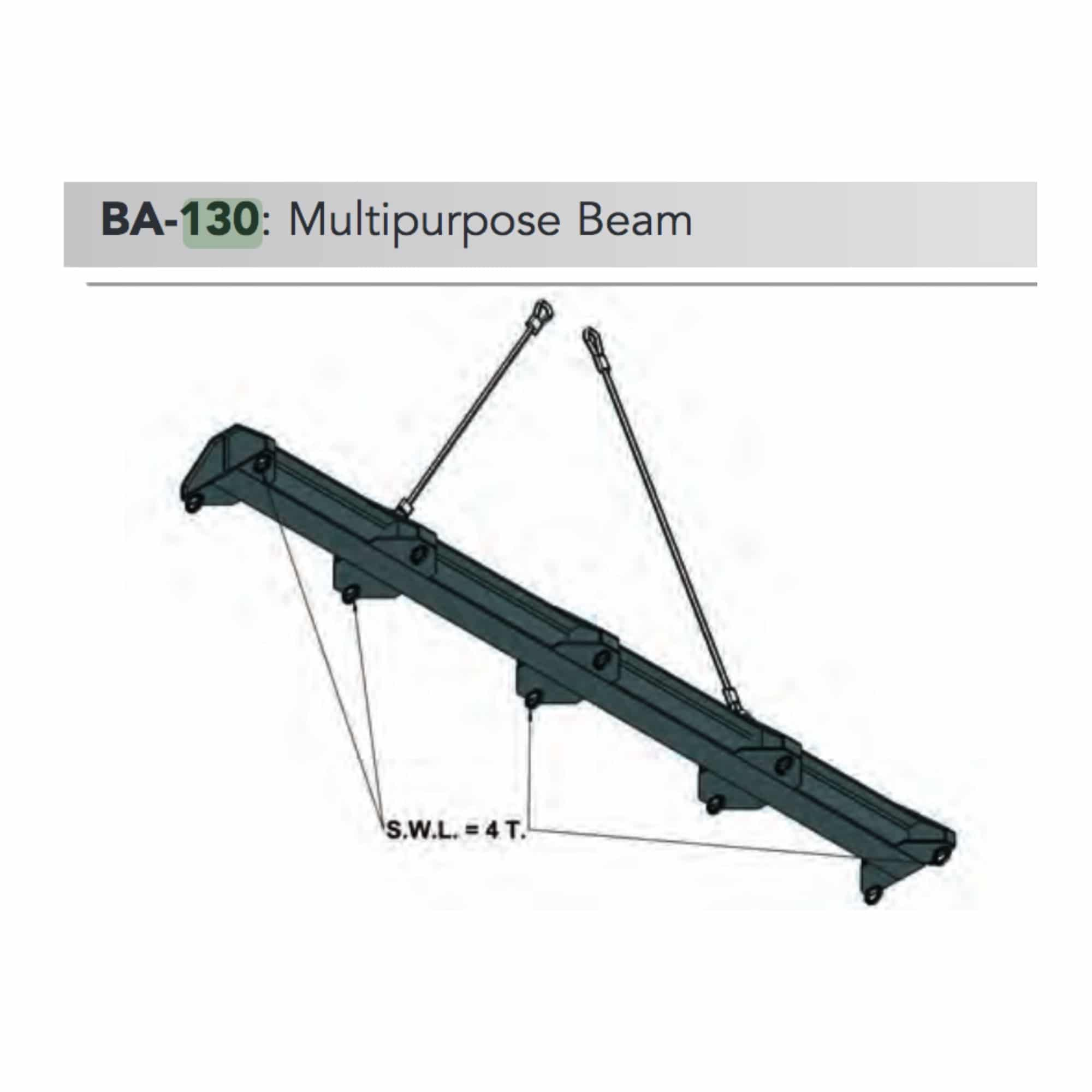 ba 130 multipurpose beam