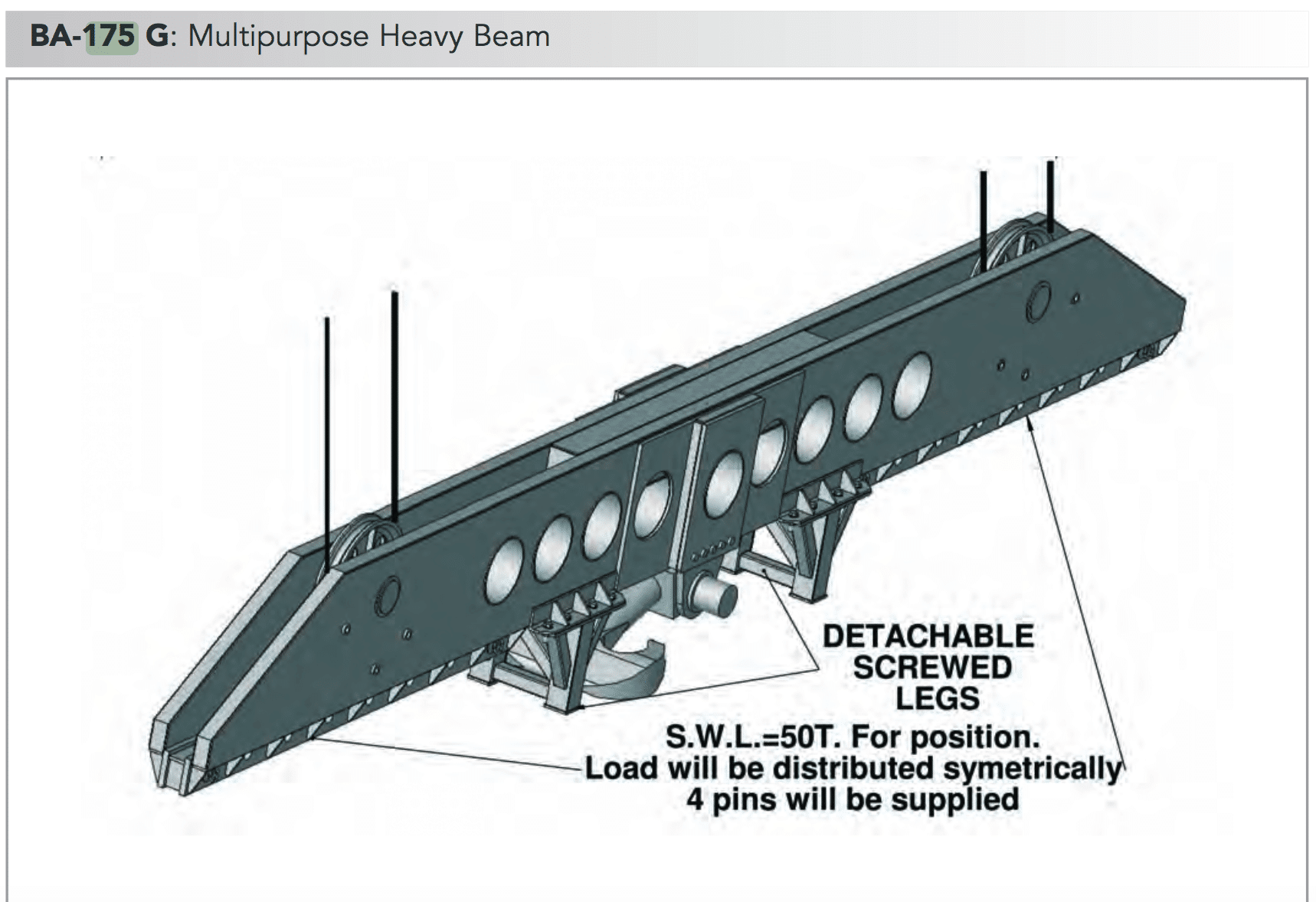 ba 175g multipurpose heavy beam