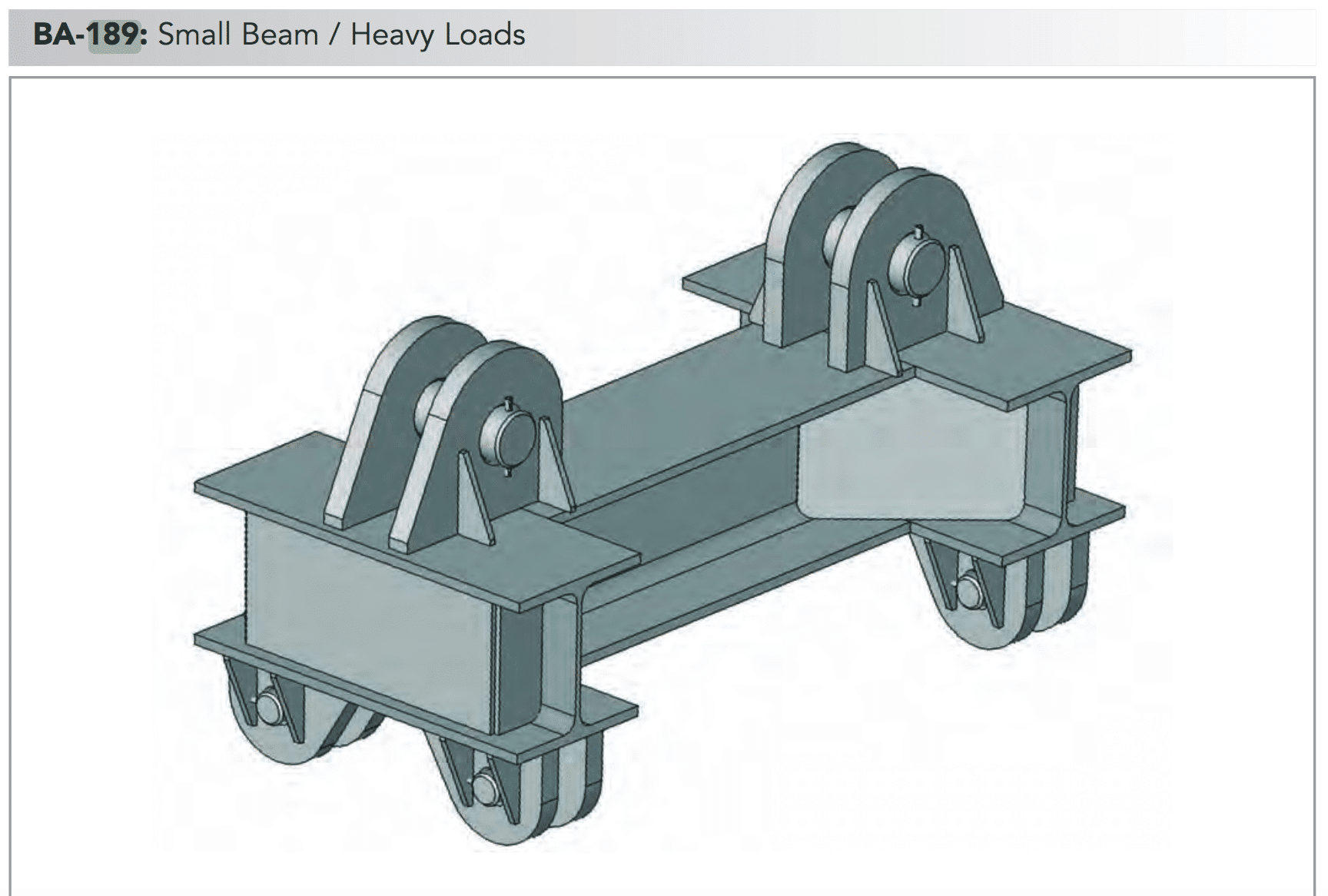 ba 189 small beam heavy loads min
