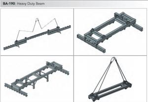ba 190 heavy duty frame range min