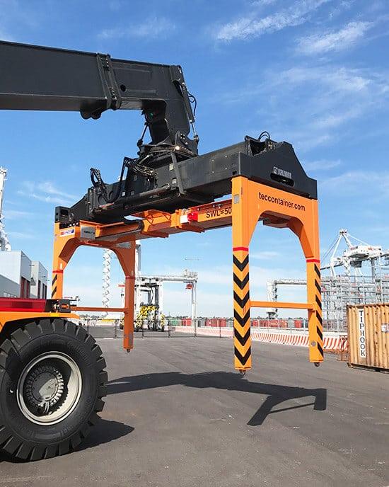 Tec Container overheight frame in Victoria, Australia