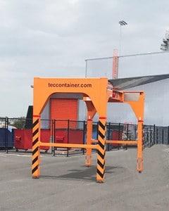 tec container overheight frame Port Melbourne-Australia