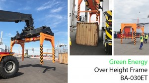 Tec ContaiTec Container Asia Pacific Overheight Frame VICTner Overheight Frame at VICT