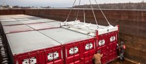 container spreader Tec Container Australia