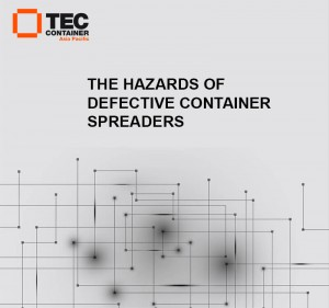 tec container spreader article