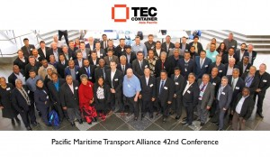 Tec Container at Pacific Maritime Tranport Alliance Conference