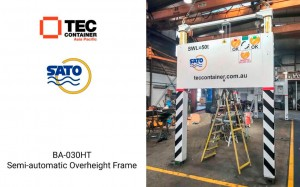 tec container overehight frame Noumea