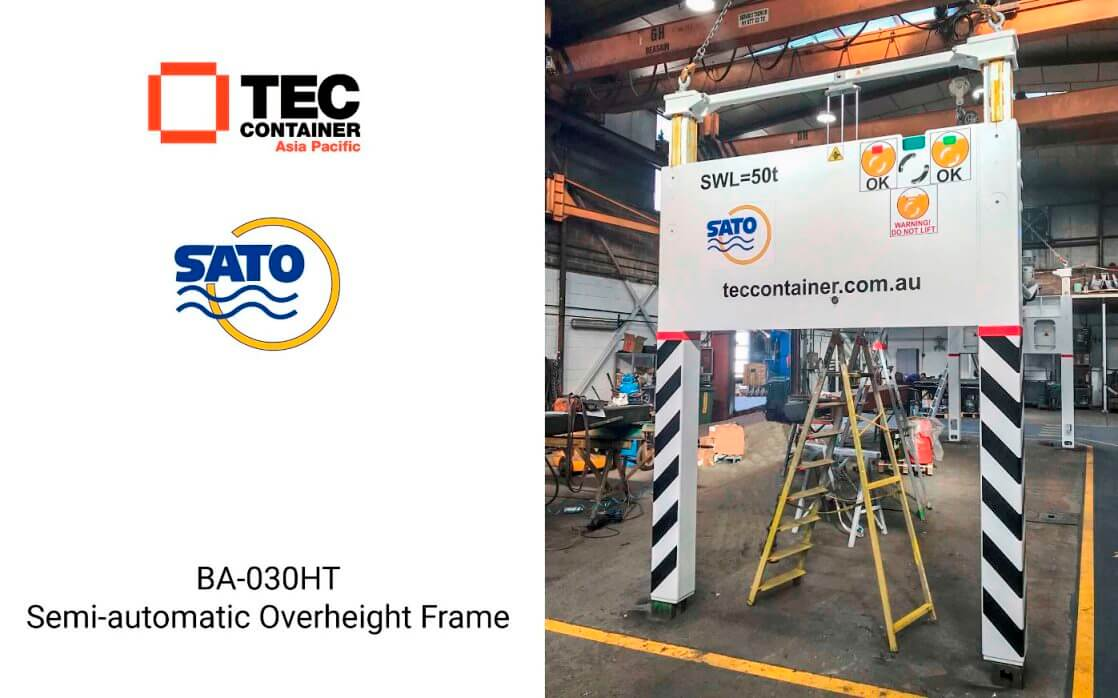 tec container overehight frame Noumea