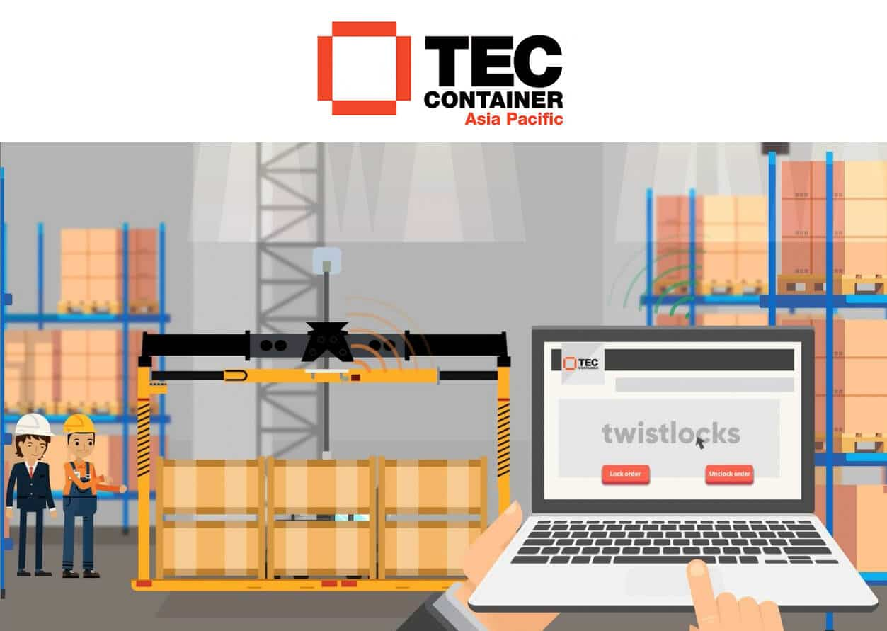 wifi overheight frame Tec Container