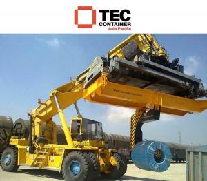 reachstacker coil handler Tec Container