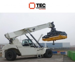 reach stacker attachment double hook