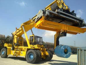 Reachstacker Coil Handler