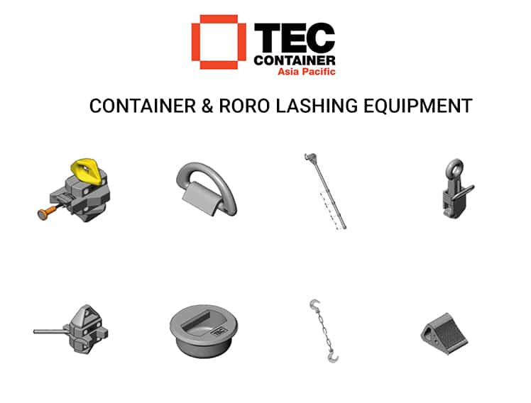 tec container lashing equipment