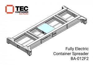 Tec Container electric container spreader BA 012F2