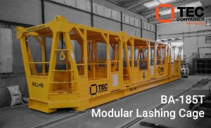 BA 185 lashing cage for Tahiti