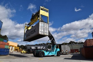 tec container over height frame at container depot