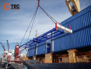 tec container spreader in New Zealand