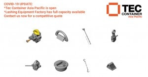 Lashing parts and accessories