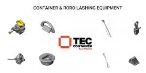 tec container lashing equipment