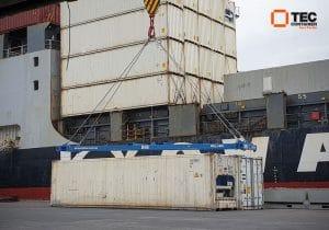 tec container semi automatic spreader in Samoa