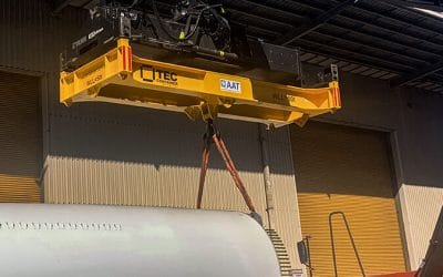 AAT Enhances Efficiency by Using Tec Container Reach Stacker Frame