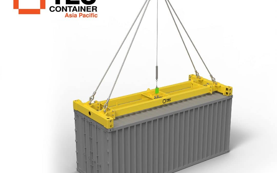Introducing Our Brand-New Semi-Auto Container Spreader
