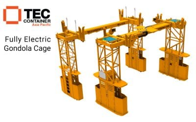 Introducing Our Newly-Designed Electric Gondola Lashing Cage